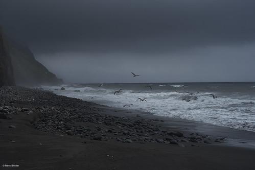 Raue See bei Povoacao