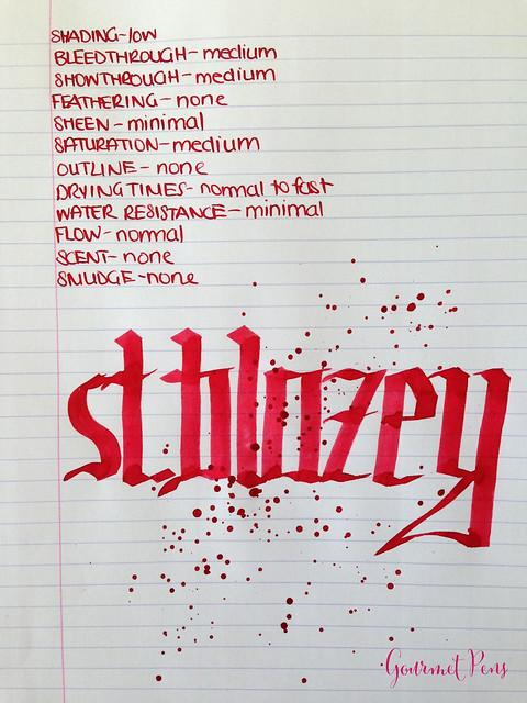 Conway Stewart St. Blazey Ink 6