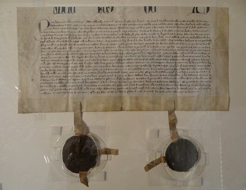 1331 - 'seal 1 of Lodewijk IV, count of Loon and Chiny', Archives de l'État, Liège / Stadsarchief, Sint-Truiden, province of Limburg, Belgium