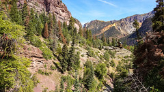 Mountain View from the Box Canyon Falls Park in Ouray, Colorado