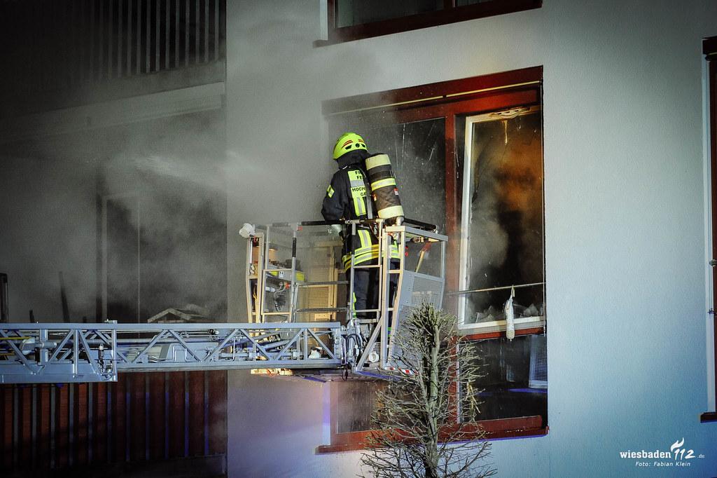 Zimmerbrand Sensiorenwohnanlage Marienheim Geisenheim - 18.02.2019