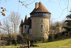 16 Montbron - Chabrot Château XV XVI 06 - Photo of Bussière-Badil