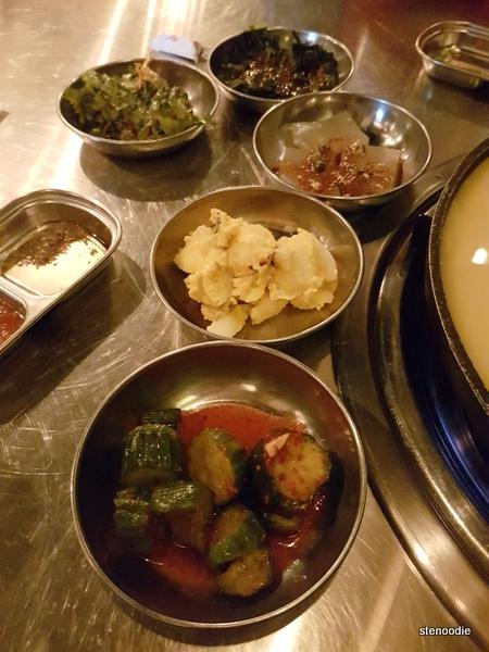 Daldongnae Korean BBQ banchan
