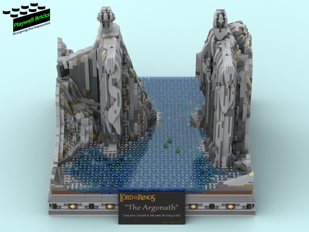 The Argonath - Front Top Down