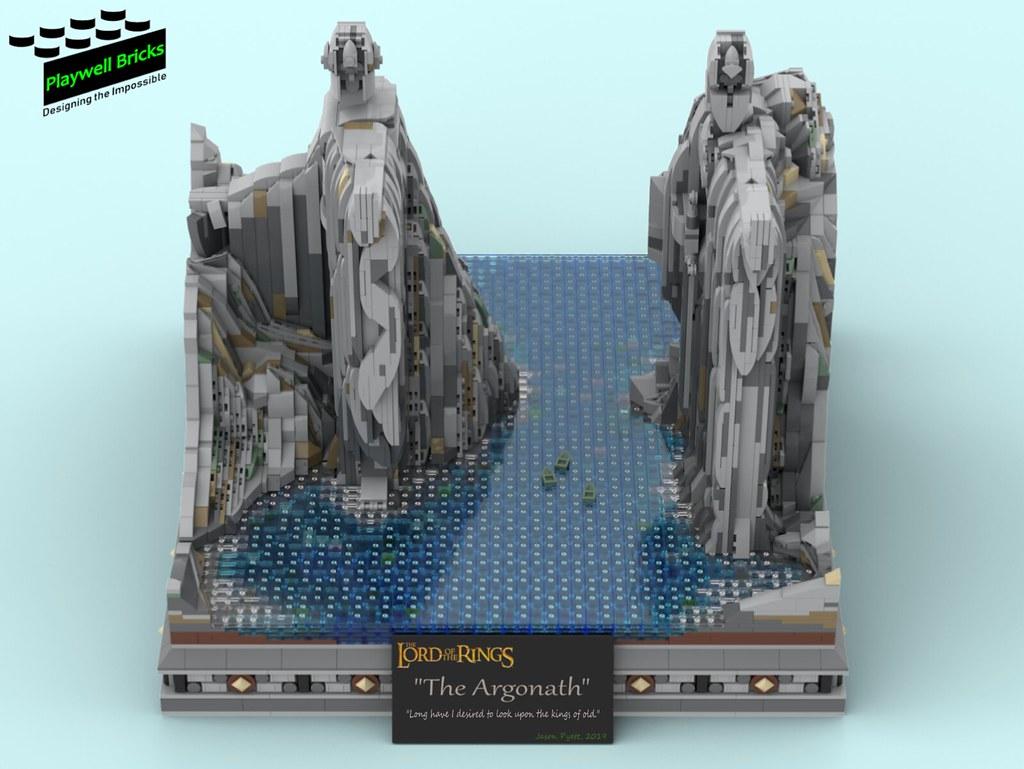 The Argonath - Front Top Down