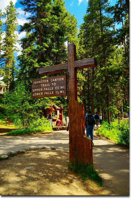 Johnston Canyon Trail (1)