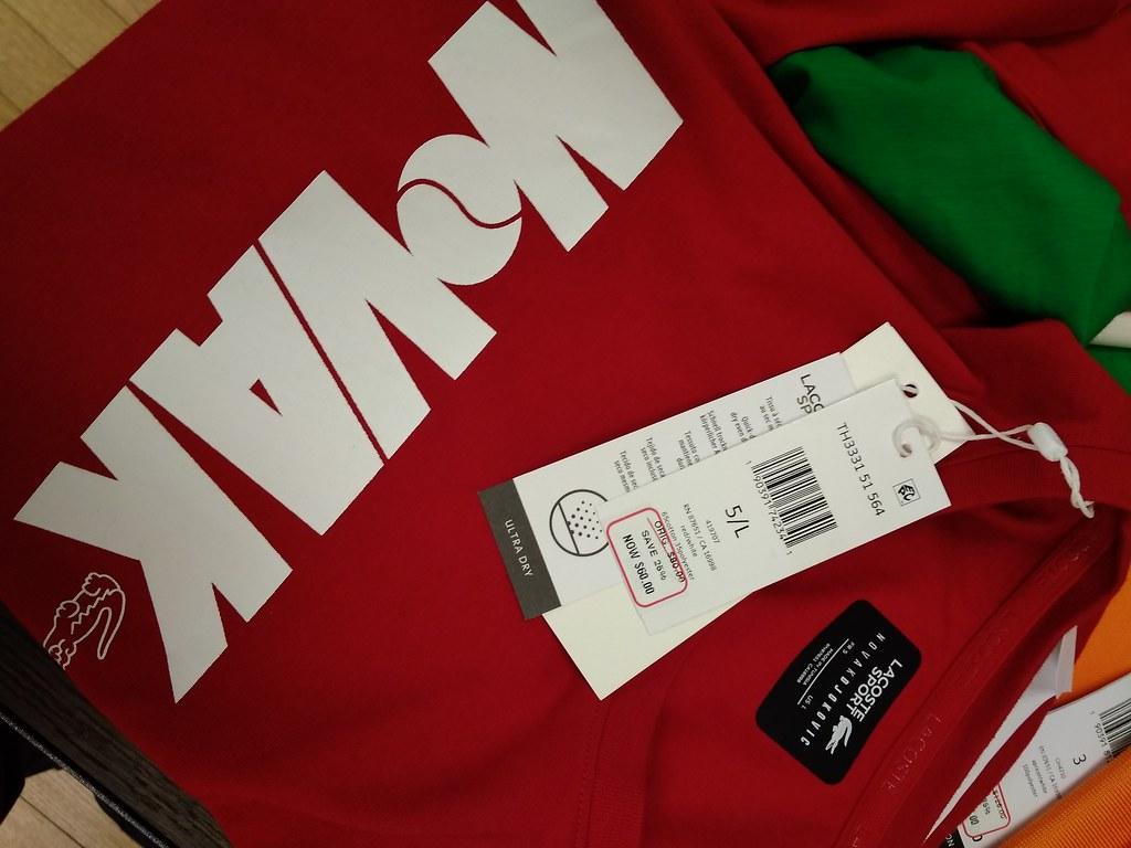 LACOSTE SPORT T-shirt $42