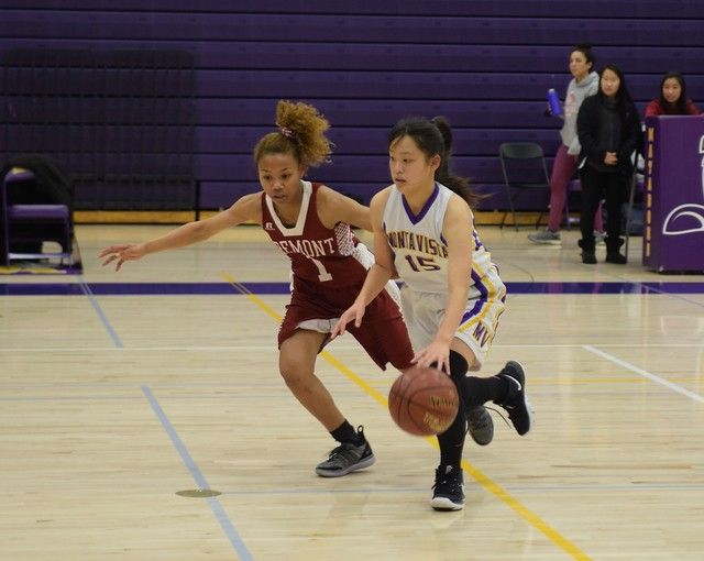 Girls Basketball vs Fremont HS 1/9
