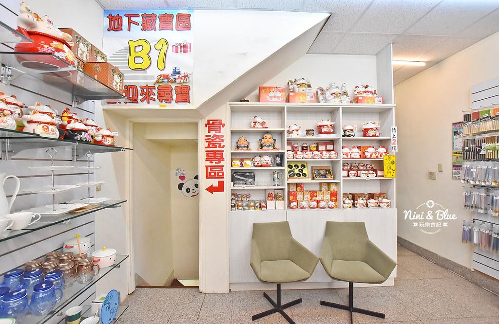台中餐具批發 台韓 骨瓷 摩艾石像12