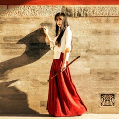 US $33.99 50% OFF|Hanfu Costume Black Long Skirt Chinese Clothes Summer High Waist Red Cotton Linen Retro Maxi Skirt Saia Longa Jupe Faldas Largas-in Skirts from Women's Clothing on Aliexpress.com | Alibaba Group