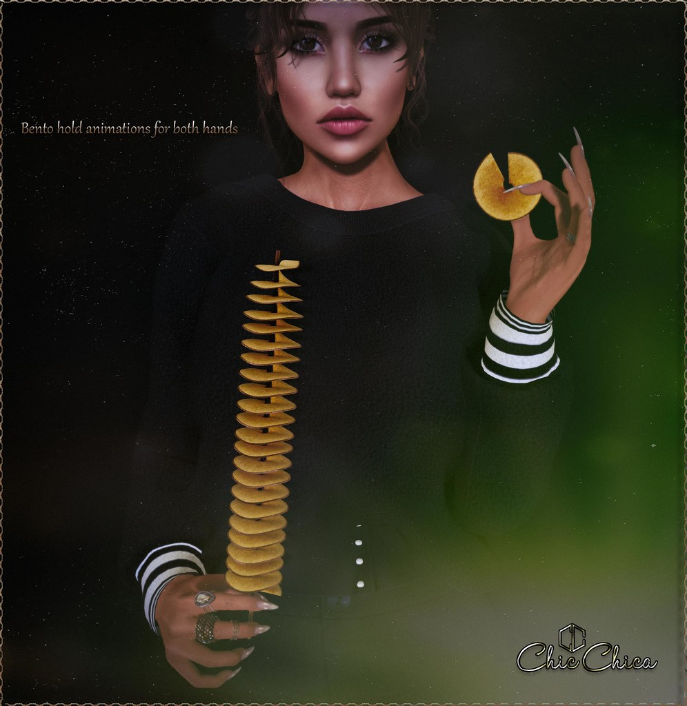 Spiral potato chips by ChicChica @ Soiree soon