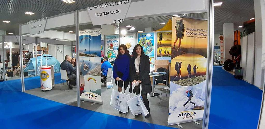 ALTAV Alanya'nın doğa turizmi ve sporlarını tanıttı