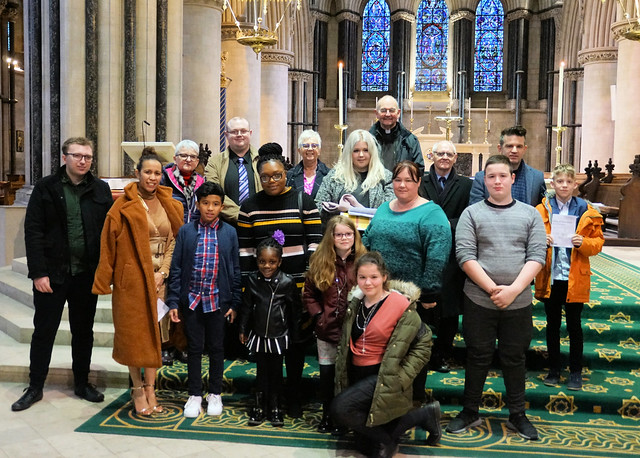 Rite of Election, St John's Norwich, March 2019