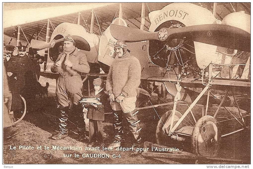 Caudron G-4 1/48 , Etienne Poulet et Jean Benoist, Paris-Melbourne 1919. Decals Meliusmanu 32700723798_878b21fa4c_b