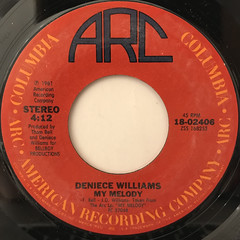 DENIECE WILLIAMS:SILLY(LABEL SIDE-B)