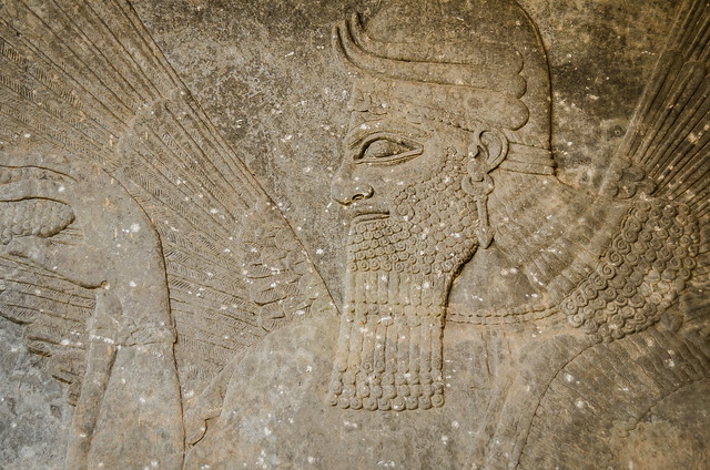 Remains of Nimrud (destroyed by isis)