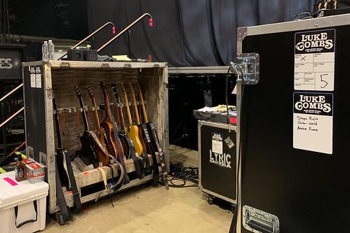 Guitar Staging (Luke Combs)