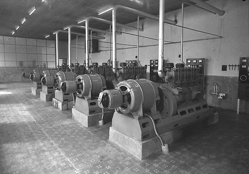 maquinària fàbrica Matacàs Sant Feliu de Llobregat