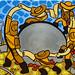 La Danza de las Esferas Precolombinas by Parodias de Pinturas Famosas