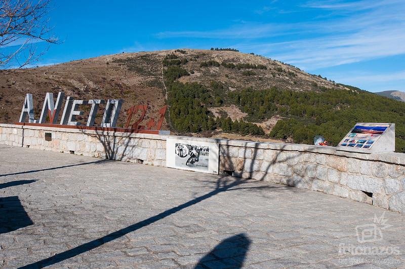 Mirador Ángel Nieto en la Cruz Verde