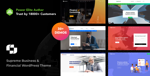 Businext v1.1.3 - Supreme Businesses and Financial Theme