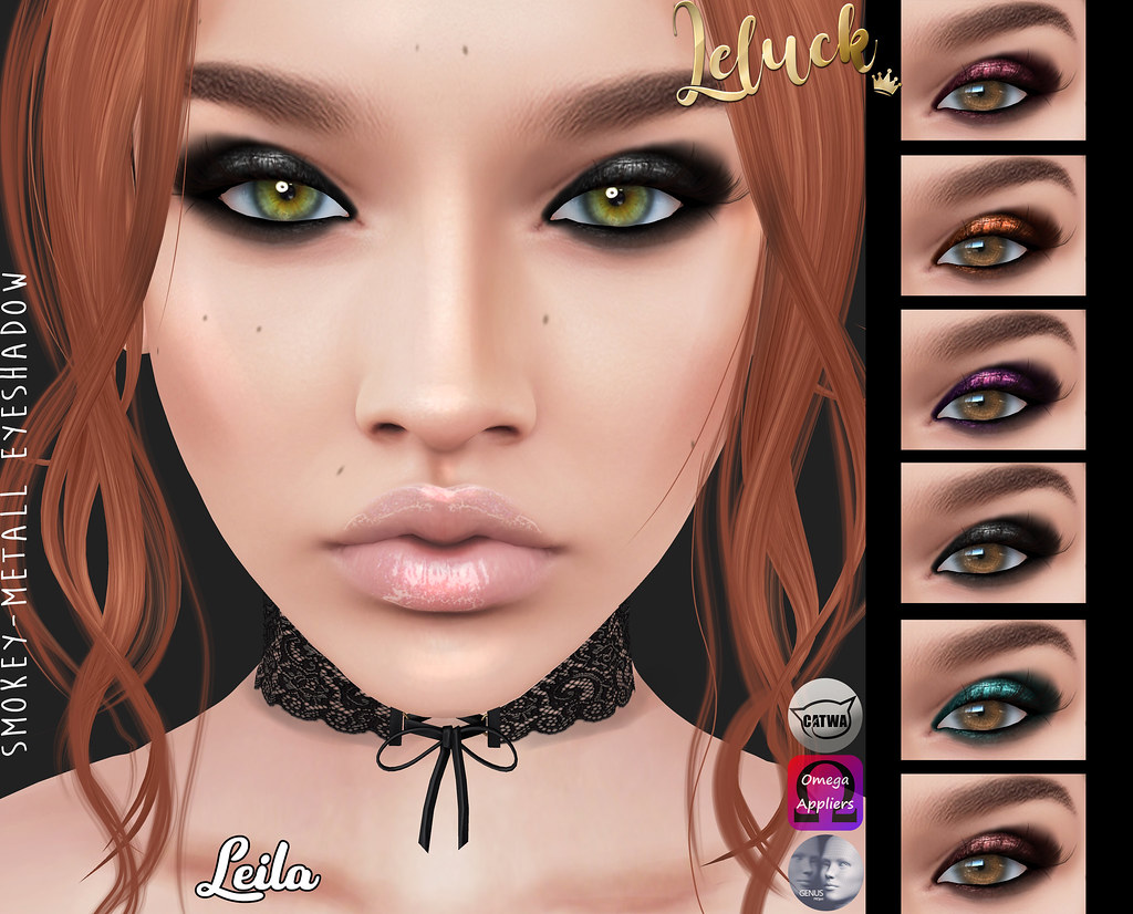 [LeLuck]Smokey-Metall Eyeshadow Leila