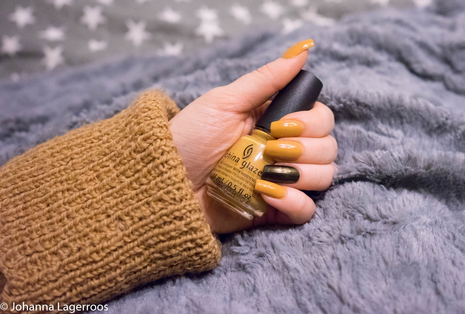 china glaze yellow nails
