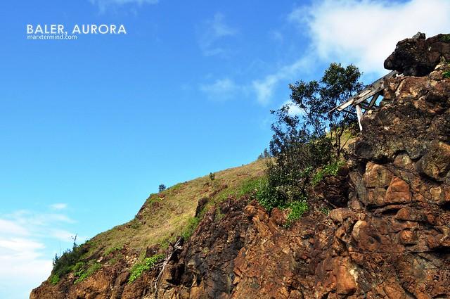 Hill near Digisit Beach