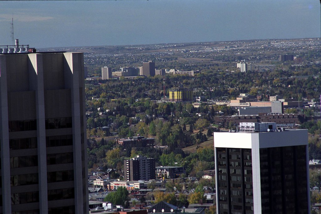 City Detail 1 | A detail of Calgary, Alberta as viewed from
