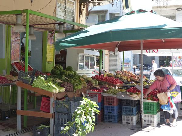 légumes au Pirée