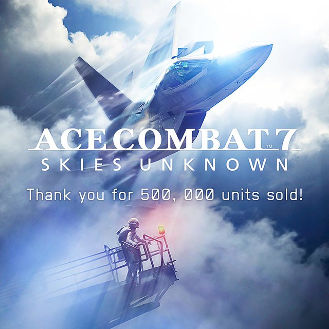 Ace Combat 7 Skies Unknown 500k