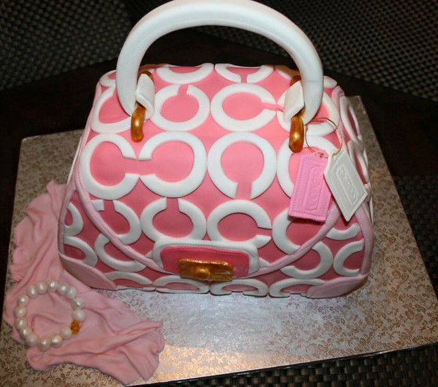 Handbag Cake by Buttercream Dreams Bakery