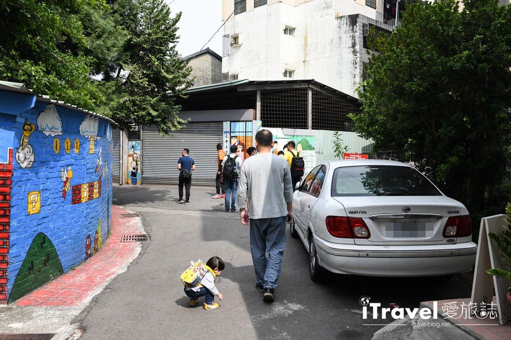 台中景点推荐 动漫彩绘巷 (14)
