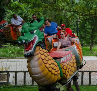 Photo 4 of 4 in the Dragon Roller Coaster gallery