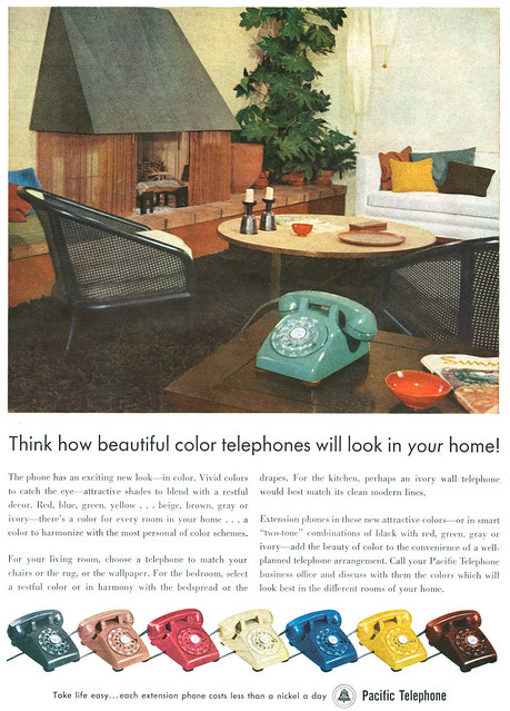 Pacific Telephone 1955