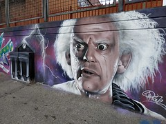 Doc Brown Back to the future