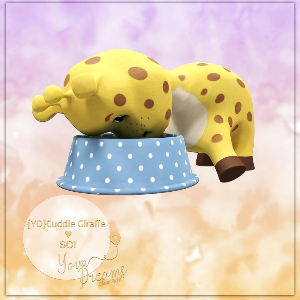{YD}Cuddle Giraffe - TeleportHub.com Live!