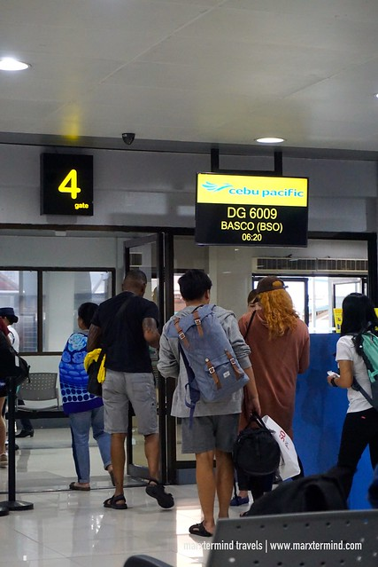Boarding DG 6009 Batanes Cebu Pacific