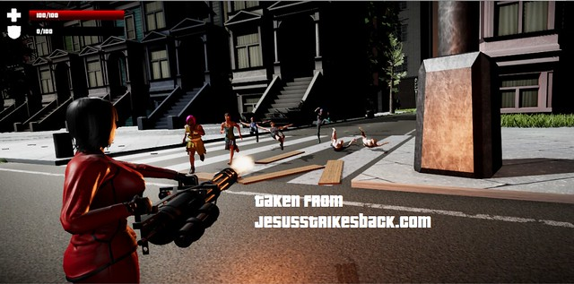 Jesus Strikes Back - Gunning Down Radicals