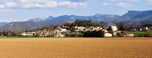 The village of Charpey in the Auvergne-Rhône-Alpes region of France
