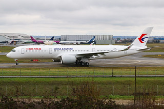 F-WZNF Airbus A350 China Eastern