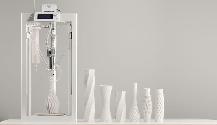 3D печать керамики керамботом