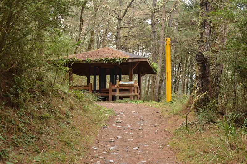 向陽國家森林遊樂區松景步道涼亭