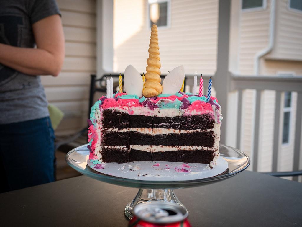 Cake back side