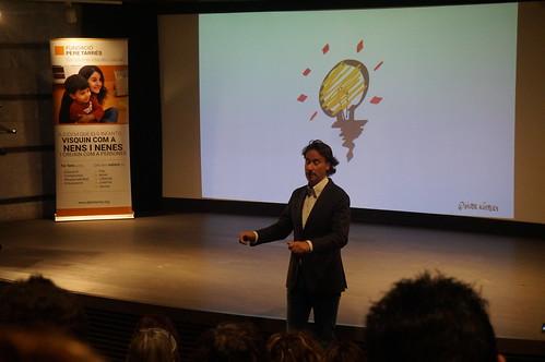 Conferència Víctor Küppers a Manresa