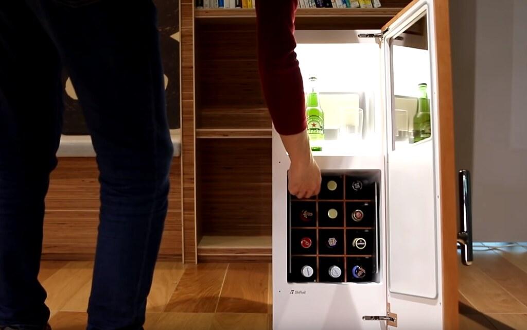 Японцы создали холодильник с бесконечными запасами пива