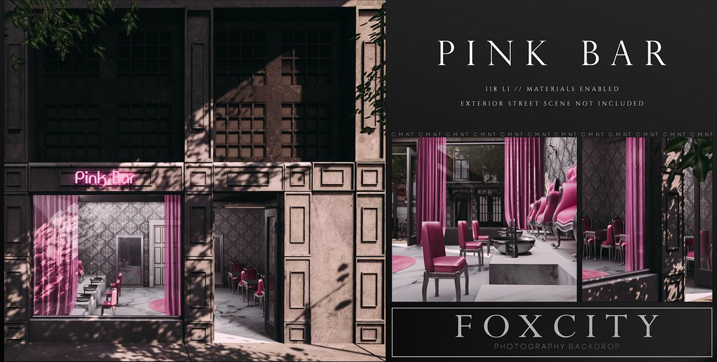 FOXCITY. Photo Booth – Pink Bar