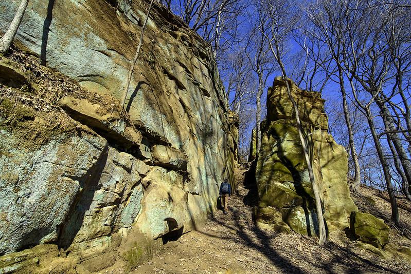 Narrow Pass at Steamboat Rock