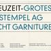 Neuzeit Grotesk 01 by Peter Glaab