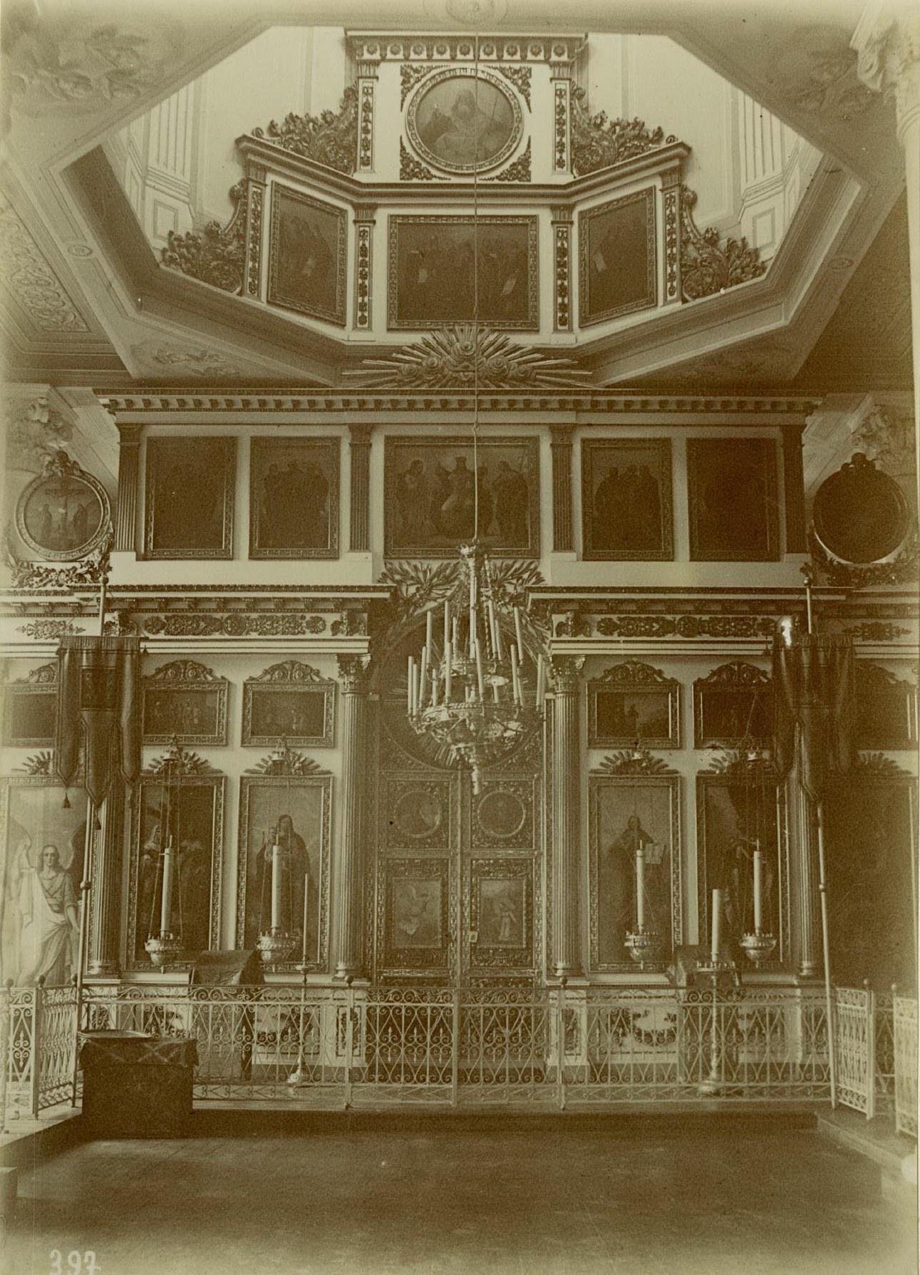 14. Александро-Невская Лавра, иконостас Александро-Невской церкви